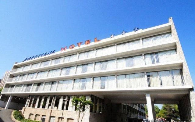 Отель Americana Hotel США, Арлингтон - отзывы, цены и фото номеров - забронировать отель Americana Hotel онлайн вид на фасад
