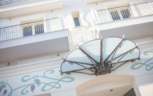 Отель Princier Fine Resort & SPA вид на фасад