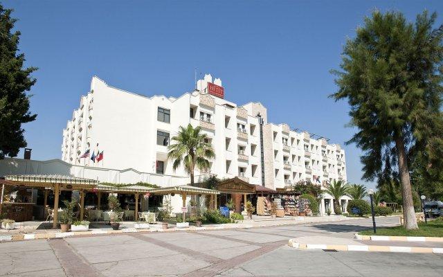 Hitit Hotel вид на фасад