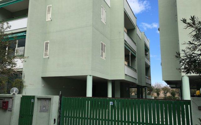Отель Bilocali Baia Verde вид на фасад