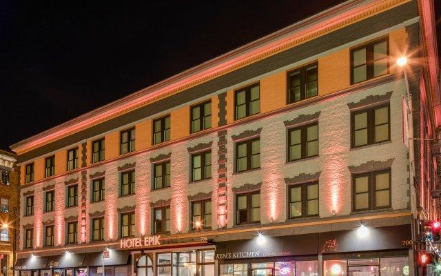 Отель EPIK США, Сан-Франциско - 1 отзыв об отеле, цены и фото номеров - забронировать отель EPIK онлайн вид на фасад