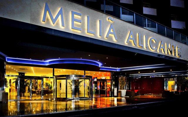 Отель Melia Alicante вид на фасад
