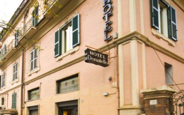 Отель Donatello Италия, Рим - 1 отзыв об отеле, цены и фото номеров - забронировать отель Donatello онлайн вид на фасад