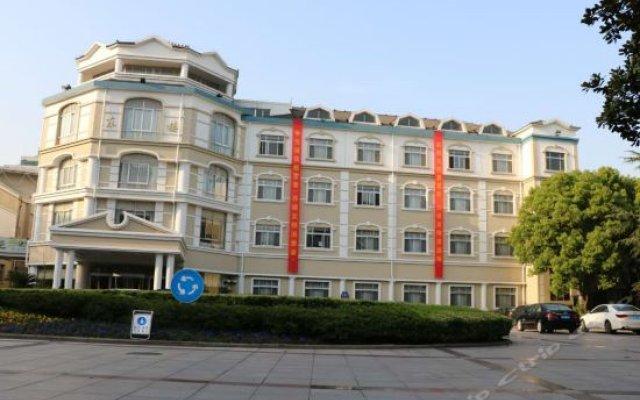 Shazhou Express Hotel вид на фасад