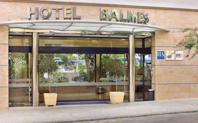 GHT Balmes, Hotel, Aparthotel & SPLASH вид на фасад