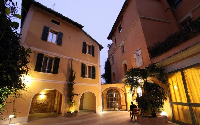 Отель Il Guercino вид на фасад