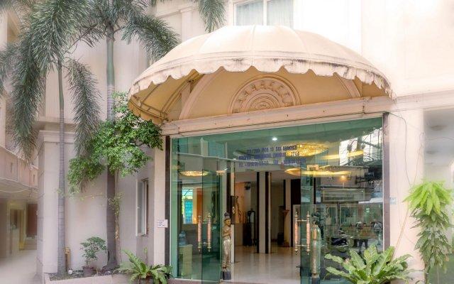 Отель SuperBed Otel вид на фасад