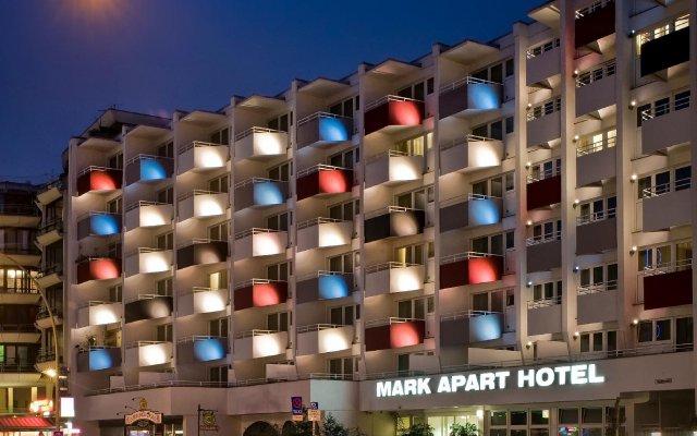 Отель Mark Apart Hotel Германия, Берлин - 6 отзывов об отеле, цены и фото номеров - забронировать отель Mark Apart Hotel онлайн вид на фасад