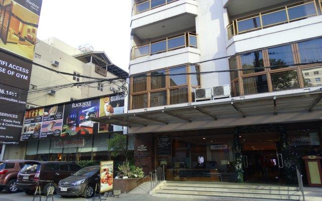 Отель City Garden Suites Manila Филиппины, Манила - 1 отзыв об отеле, цены и фото номеров - забронировать отель City Garden Suites Manila онлайн вид на фасад