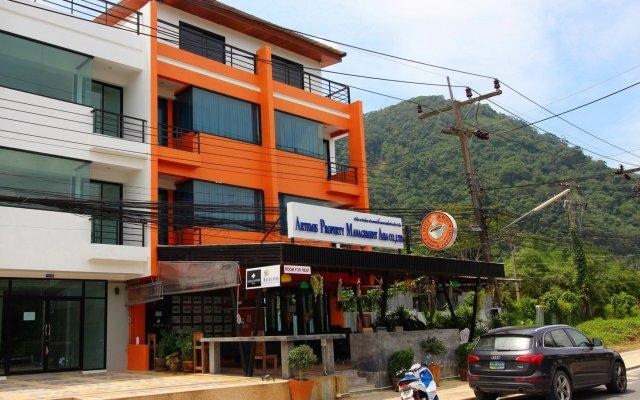 Отель Hi So Low Cost Aparthotel вид на фасад