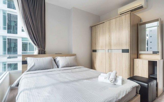 Отель The Sky Sukhumvit By Favstay комната для гостей