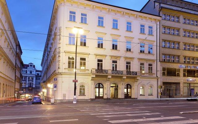 Отель Eurostars Thalia Чехия, Прага - 7 отзывов об отеле, цены и фото номеров - забронировать отель Eurostars Thalia онлайн вид на фасад