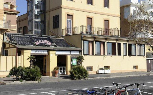 Отель Bellavista Италия, Лидо-ди-Остия - 3 отзыва об отеле, цены и фото номеров - забронировать отель Bellavista онлайн вид на фасад