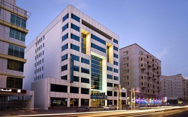 Отель Four Points by Sheraton Bur Dubai ОАЭ, Дубай - 1 отзыв об отеле, цены и фото номеров - забронировать отель Four Points by Sheraton Bur Dubai онлайн вид на фасад