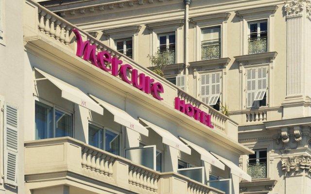 Отель Mercure Nice Marché Aux Fleurs Франция, Ницца - 13 отзывов об отеле, цены и фото номеров - забронировать отель Mercure Nice Marché Aux Fleurs онлайн вид на фасад