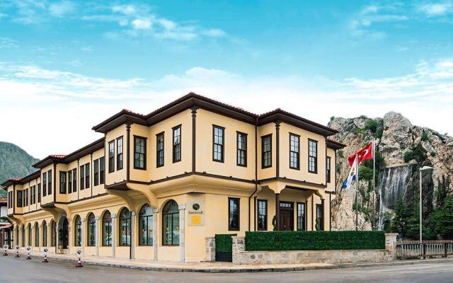 Sarikonak Boutique & SPA Hotel Турция, Амасья - отзывы, цены и фото номеров - забронировать отель Sarikonak Boutique & SPA Hotel онлайн вид на фасад