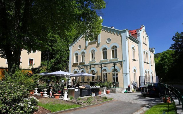 Отель Villa Basileia вид на фасад