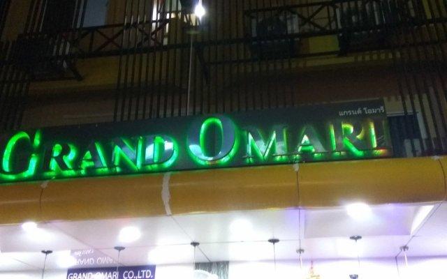Отель Grand Omari вид на фасад