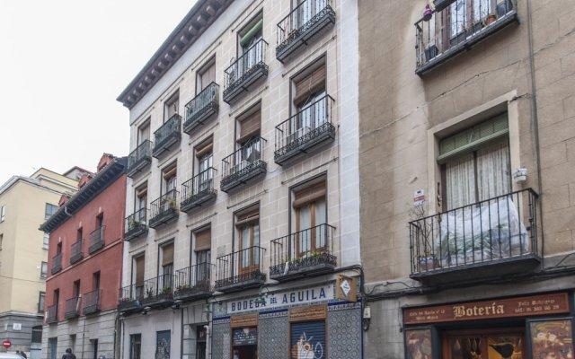 Отель Apartamento Puerta de Toledo VII Испания, Мадрид - отзывы, цены и фото номеров - забронировать отель Apartamento Puerta de Toledo VII онлайн вид на фасад