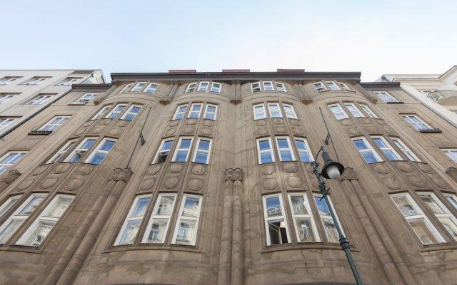 Отель Old Town Prague Chez moi Прага вид на фасад