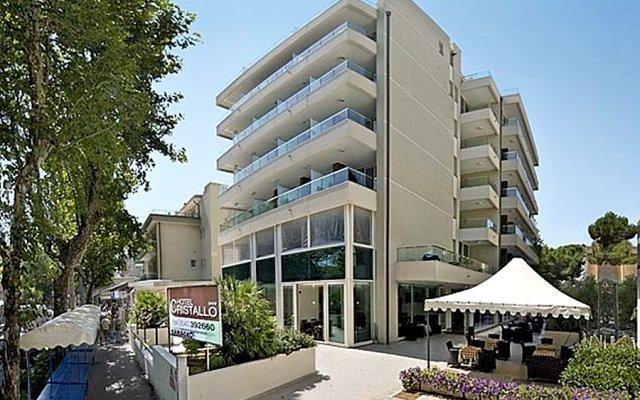Отель Cristallo Италия, Римини - отзывы, цены и фото номеров - забронировать отель Cristallo онлайн вид на фасад