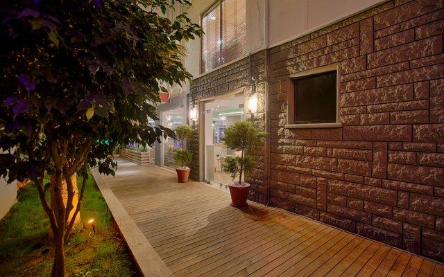 HMA Apart Hotel вид на фасад