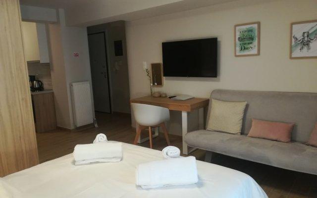 Отель Olympus Residence Афины комната для гостей