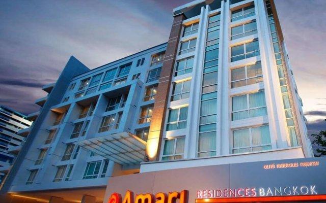 Отель Amari Residences Bangkok вид на фасад