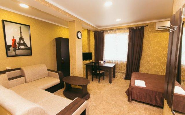 Гостиница Бархат комната для гостей
