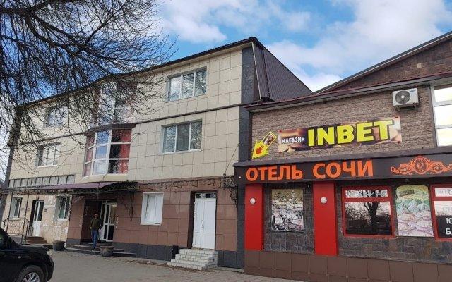 Sochi Hotel вид на фасад