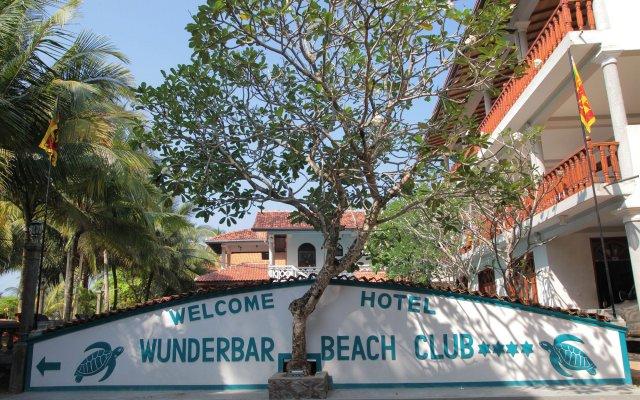 Отель Wunderbar Beach Club Hotel Шри-Ланка, Бентота - отзывы, цены и фото номеров - забронировать отель Wunderbar Beach Club Hotel онлайн вид на фасад