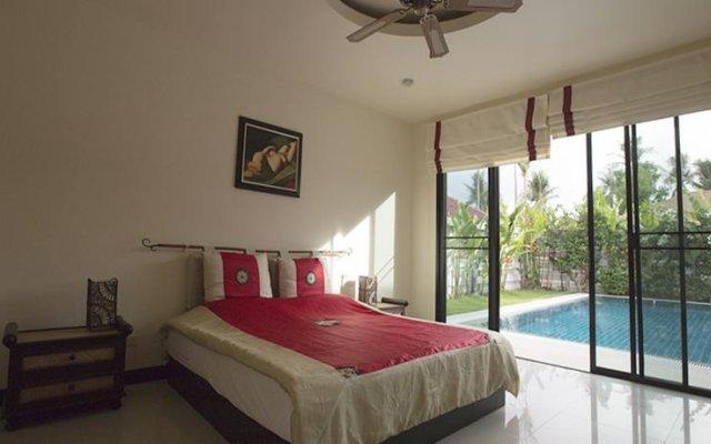Отель Comfortable Pool Villa D комната для гостей
