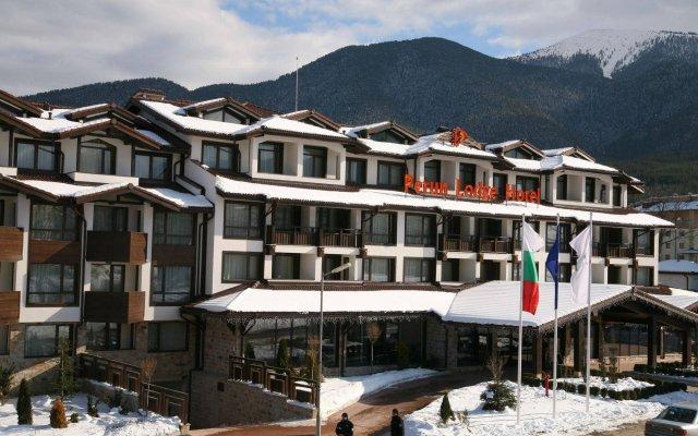 Отель Perun Lodge Банско вид на фасад
