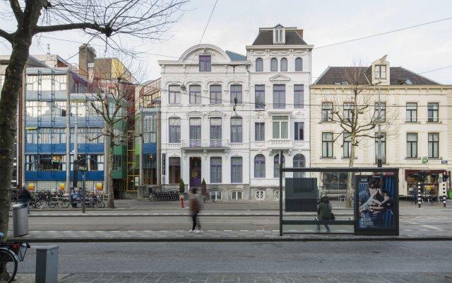 Отель Quentin Zoo Амстердам вид на фасад