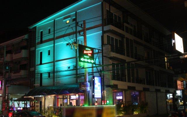 Отель Access Inn Pattaya вид на фасад