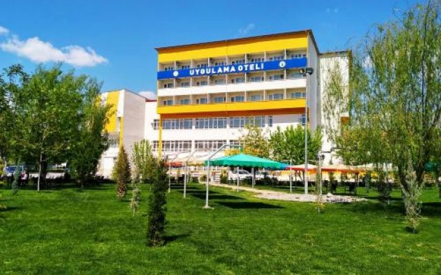 Отель Ululrmak Uygulama Oteli Селиме вид на фасад