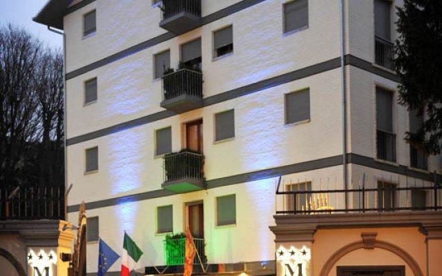 Отель M14 Падуя вид на фасад