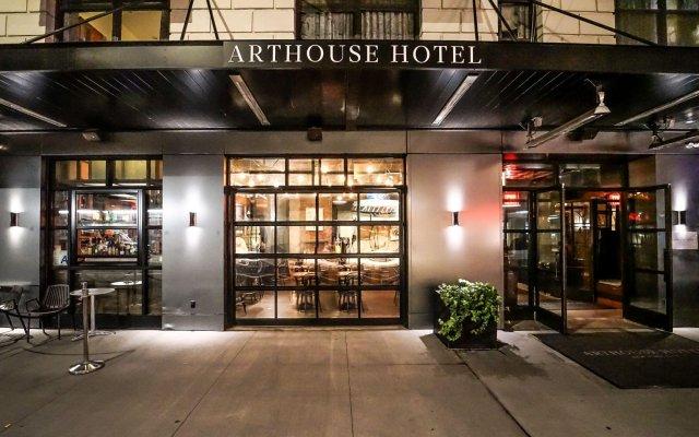 Arthouse Hotel New York City вид на фасад