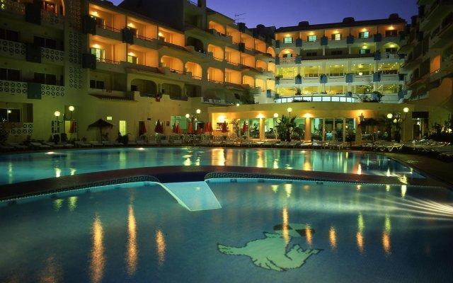 Отель Smartline Miramar Португалия, Албуфейра - отзывы, цены и фото номеров - забронировать отель Smartline Miramar онлайн вид на фасад