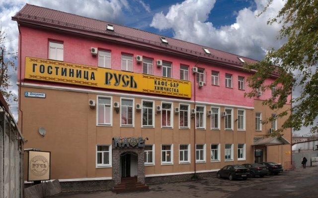 Гостиница Русь вид на фасад