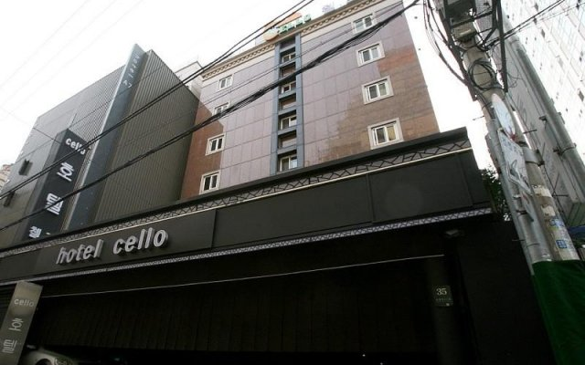 Hotel Cello Seocho вид на фасад