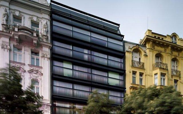 Design Metropol Hotel Prague вид на фасад