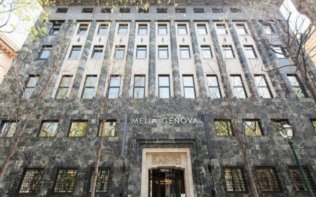 Отель Melia Genova Италия, Генуя - 1 отзыв об отеле, цены и фото номеров - забронировать отель Melia Genova онлайн вид на фасад