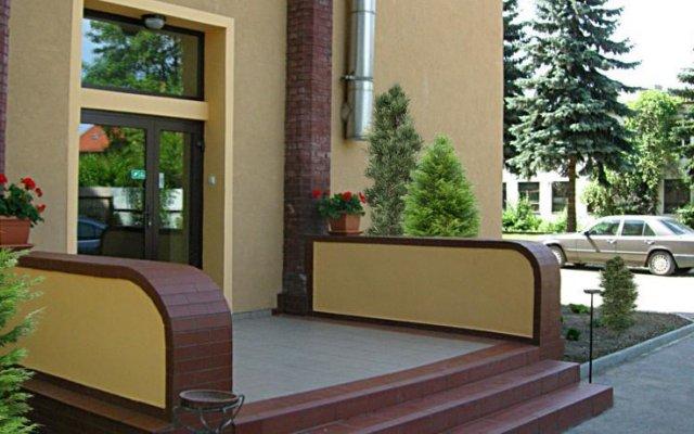Ami Hotel Вроцлав вид на фасад