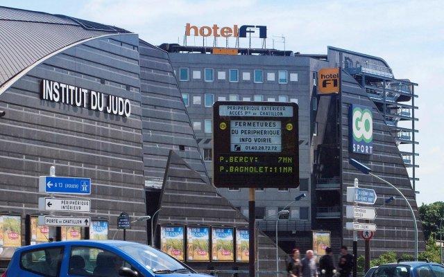 Отель hotelF1 Paris Porte de Châtillon (rénové) Франция, Париж - 1 отзыв об отеле, цены и фото номеров - забронировать отель hotelF1 Paris Porte de Châtillon (rénové) онлайн вид на фасад