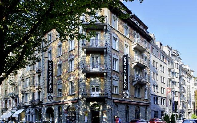 Hotel Continental-Park вид на фасад