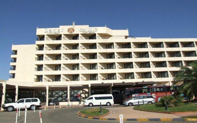 Отель Danat Al Ain Resort ОАЭ, Эль-Айн - отзывы, цены и фото номеров - забронировать отель Danat Al Ain Resort онлайн вид на фасад