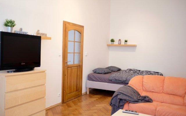 Отель Vodickova apartment Чехия, Прага - отзывы, цены и фото номеров - забронировать отель Vodickova apartment онлайн комната для гостей