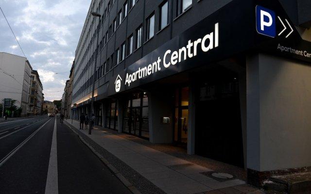 Апартаменты Apartment Central вид на фасад