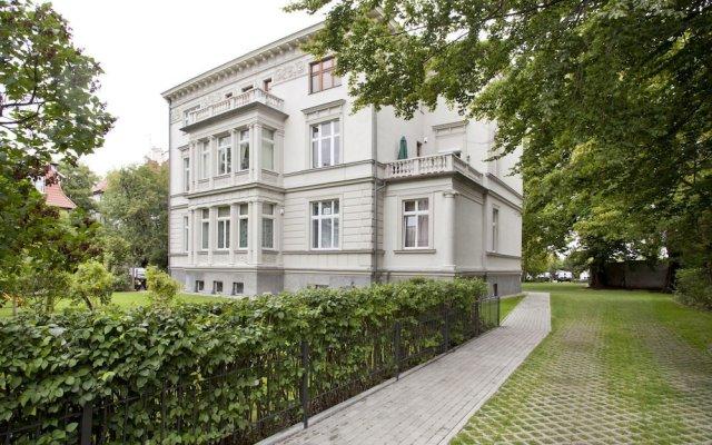 Отель Parkowy Sopockie Apartamenty Сопот вид на фасад